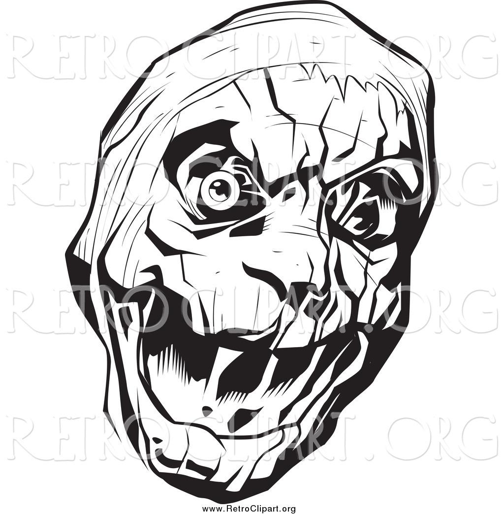 vintage horror clipart - photo #11