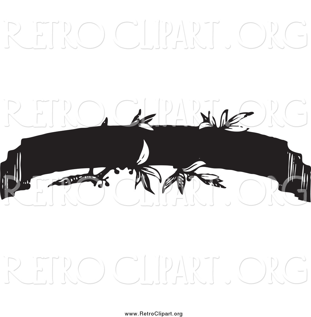 Banner Ribbon Black White | www.imgkid.com - The Image Kid ...