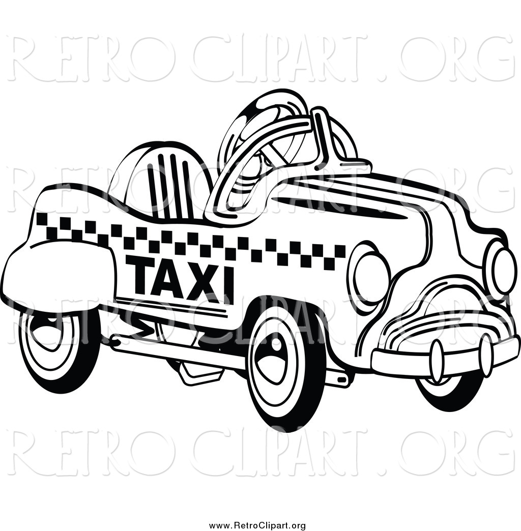Coloring Pictures Of Taxi Cabs Coloring Pages