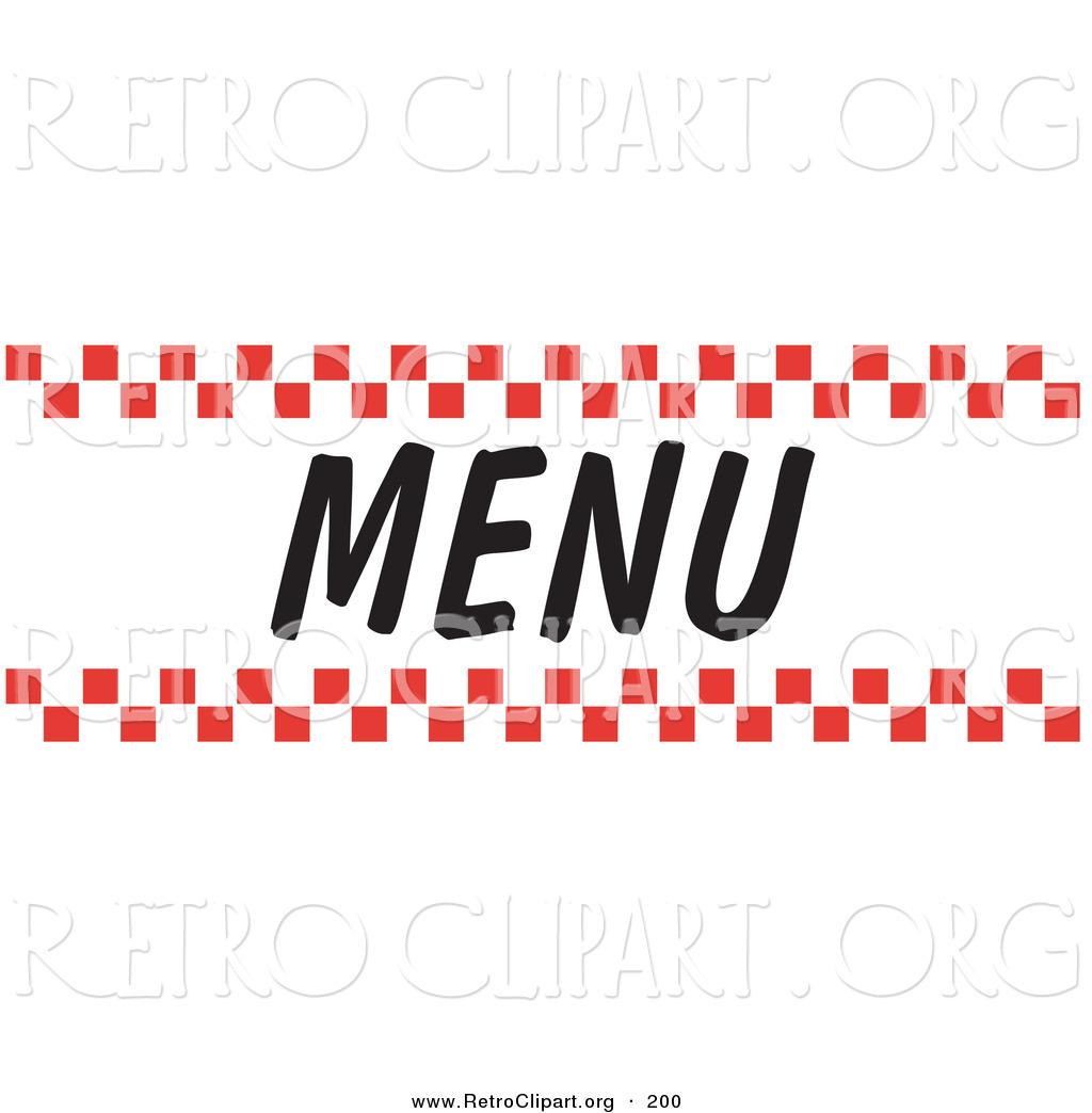 restaurant menu clipart - photo #26