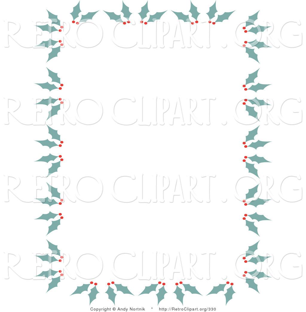 free vintage christmas border clip art - photo #19